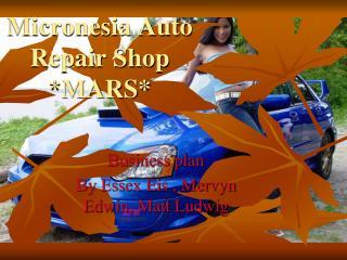 Micronesia Auto Repair Shop *MARS*