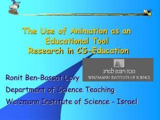 The Use of Animation as an Educational Tool  Research in CS-Education