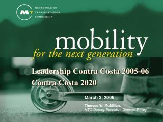 Leadership Contra Costa 2005-06 Contra Costa 2020