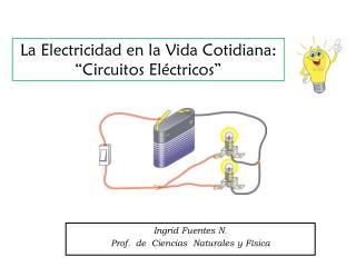 La Electricidad en la Vida Cotidiana: �Circuitos El�ctricos�
