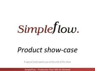 Product show-case