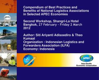 Compendium of Best Practices and Benefits of National Logistics Associations