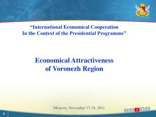 Moscow, November  17-18 ,  2011