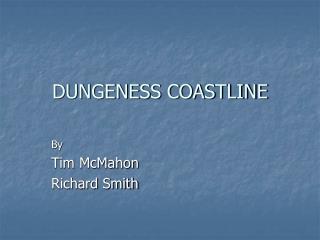 DUNGENESS COASTLINE