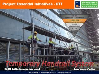 ISIA 081:  Leighton Contractors (Asia) Limited Sludge Treatment Facilities