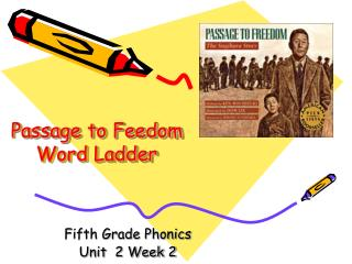 Passage to Feedom Word Ladder