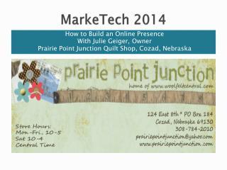 MarkeTech  2014
