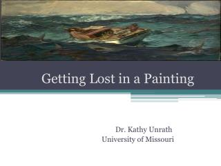 Getting Lost in a Painting