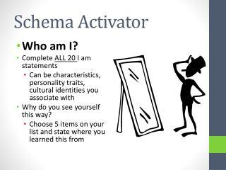 Schema Activator