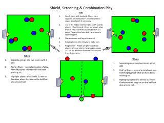 Shield, Screening & Combination Play
