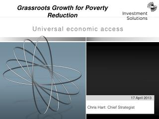 Grassroots Growth for Poverty Reduction