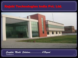 Rajshi Technologies India Pvt. Ltd.