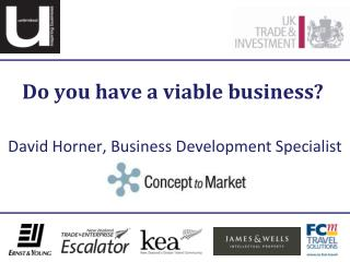 Do you have a viable business?