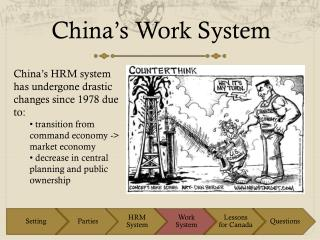 China�s Work System
