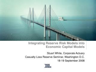 Integrating Reserve Risk Models into  Economic Capital Models