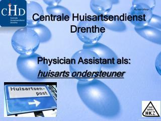 Physician Assistant  als: huisarts  ondersteuner
