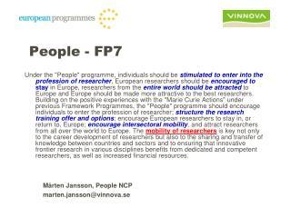 People - FP7