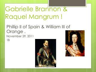Gabrielle Brannon &  Raquel  Mangrum  !