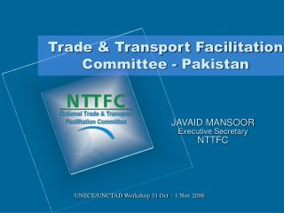 Trade & Transport Facilitation Committee - Pakistan
