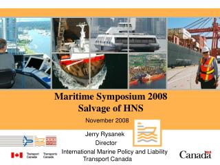Maritime Symposium 2008 Salvage of HNS