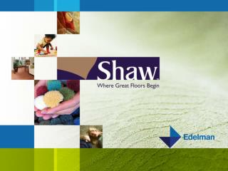 Building a Profile for  Shaw Industries