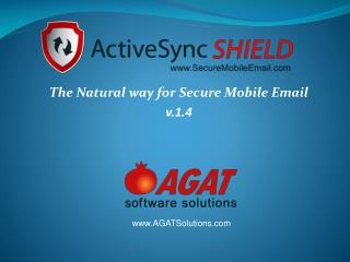 The Natural way for Secure Mobile Email v.1.4
