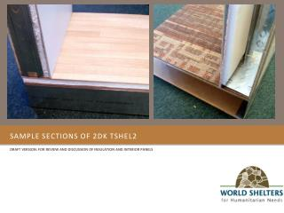 Sample sections of 2DK tshel2