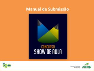Manual de Submissão