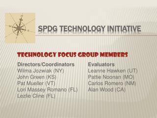 SPDG Technology Initiative