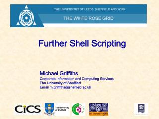 Further Shell Scripting