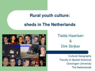 Rural youth culture: sheds in The Netherlands
