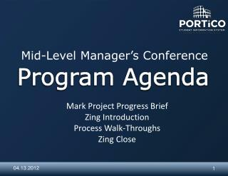 Mid-Level Manager's Conference