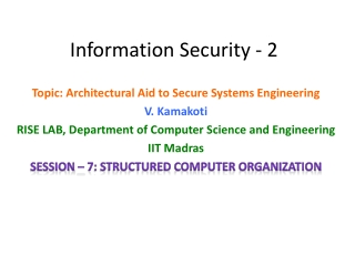 Operating Systems Level