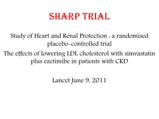 SHARP trial