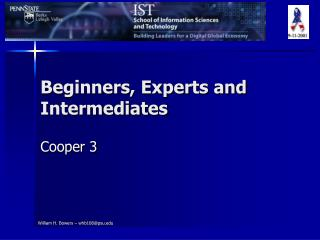Beginners, Experts and Intermediates