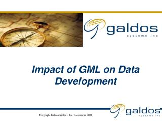 Impact of GML on Data Development