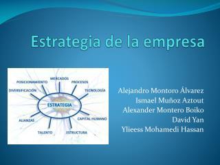 Estrategia de la empresa