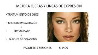 MEJORA OJERAS Y LINEAS DE EXPRESIÓN