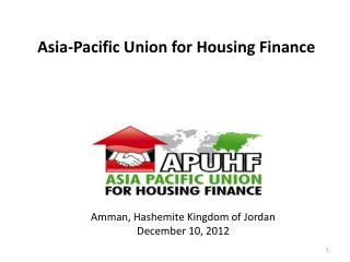 Asia-Pacific Union for Housing Finance