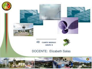 DOCENTE:  Elizabeth Salas