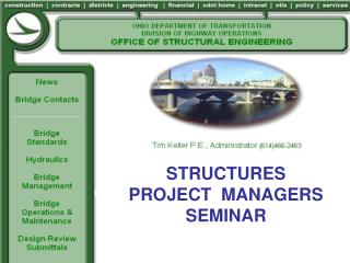 STRUCTURES PROJECT  MANAGERS SEMINAR
