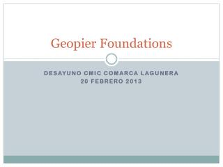 Geopier Foundations