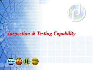 Inspection & Testing Capability