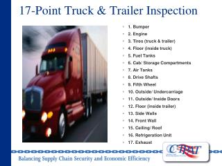 17-Point Truck & Trailer Inspection