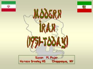 Modern Iran (1951-today)