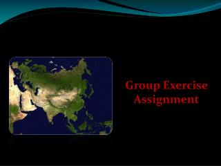 Group Exercise Assignment