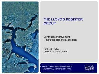 THE LLOYD'S REGISTER GROUP