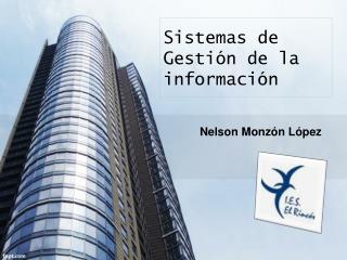 Sistemas de Gestión de la información