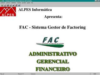 FAC - Sistema Gestor de Factoring