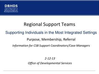 2-12-13 Office of Developmental Services